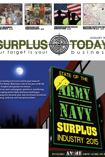 January 2015 Surplus Today